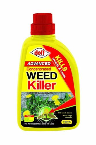 Doff Glyphosate Weed Killer Concentrate, Multi-Colour, 1 Litre